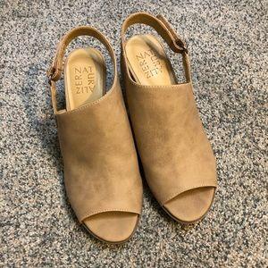 Naturalizer Peep Toe Heel Booties